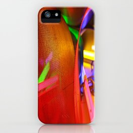 Look into the light iPhone Case