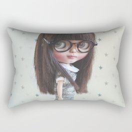 AYA CUSTOM BLYTHE DOLL BY ERREGIRO Rectangular Pillow