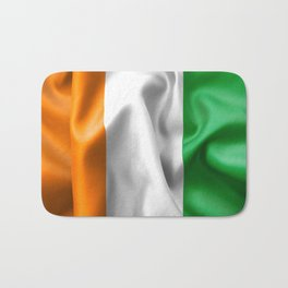 Ivory Coast Flag Bath Mat