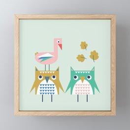 We Are Family! Framed Mini Art Print