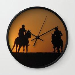 Three Horsemen Wall Clock