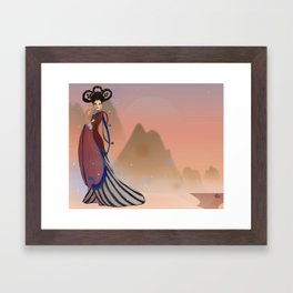 Empress Wu Zetian - China Framed Art Print