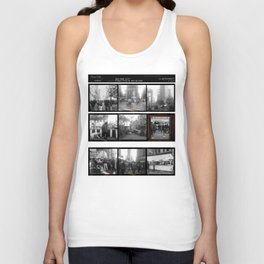 Street Fair, NYC / Contact Sheets Unisex Tank Top