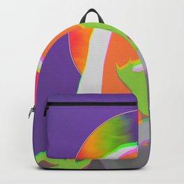 Neon Queen of Halloween Backpack