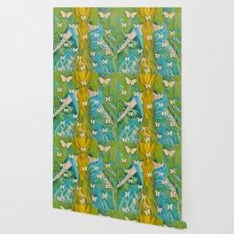 The Butterfly Girl Wallpaper