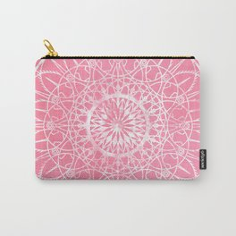 Fire Blossom - Carnation Carry-All Pouch