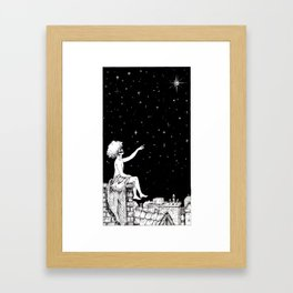 Tarot - The Star Framed Art Print