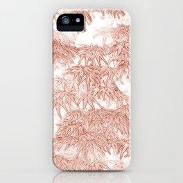 Momiji Pattern iPhone Case
