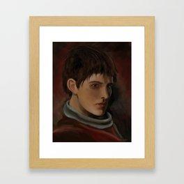 Colin Morgan Framed Art Print