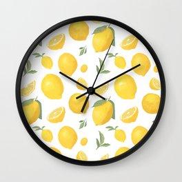 lemonlemon Wall Clock
