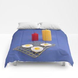 Egg BBQ Comforters