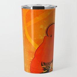 Cock-of-the-rock (Rupicola rupicola) Travel Mug