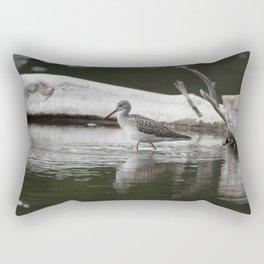 Greater Yellowleg Rectangular Pillow