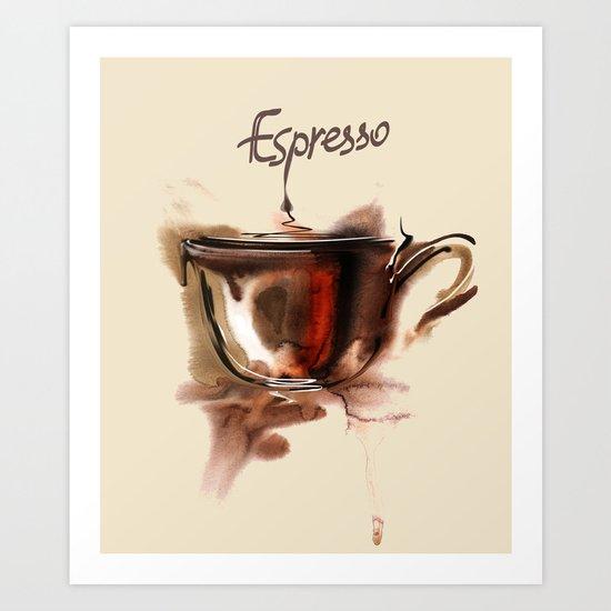 coffe Art Print