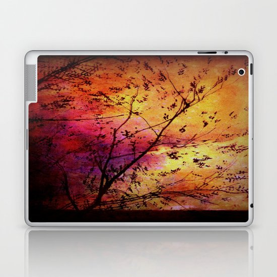The storm (later that very evening) Laptop & iPad Skin