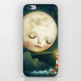 My Friend the Lighthouse iPhone Skin