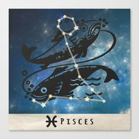 zodiac Canvas Prints featuring Zodiac by Picture It On Canvas!
