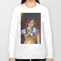 pocahontas Long Sleeve T-shirts featuring pocahontas by marmaseo