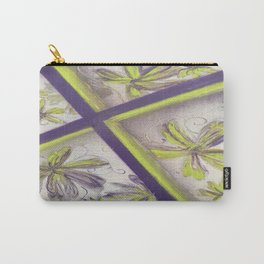 Purple green spray paint Carry-All Pouch