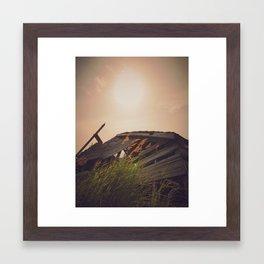 Sunset Shack 2 Framed Art Print