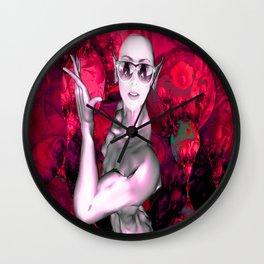 Alien Contact Wall Clock