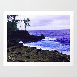 Hawaii Surf Art Print
