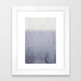 FADING GREY Framed Art Print