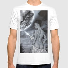 Fantasy girl Mens Fitted Tee SMALL White