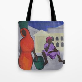 Dadas at the Market Tote Bag