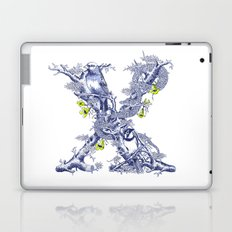Letter X Laptop & iPad Skin