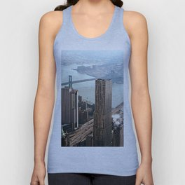 Vintage New City Unisex Tank Top