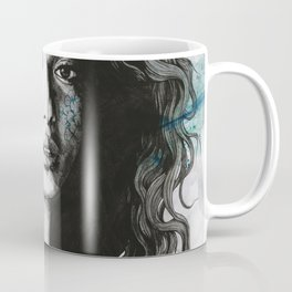 Start With a Strong and Persistent Desire   sexy black woman portrait Coffee Mug