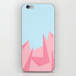 Cotton Candy Fractals iPhone Skin
