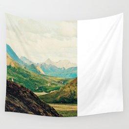 Denali Mountains Wall Tapestry