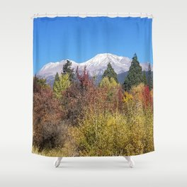 Shasta at Fall Shower Curtain