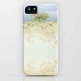 landscape 004c: 藍の空 (indigo sky) iPhone Case