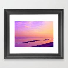 Gabicce's View Framed Art Print