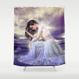 Orinoco Flow Shower Curtain