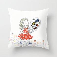 Butterflies, to Go Throw Pillow