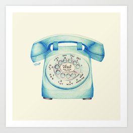 Let it Ring Art Print