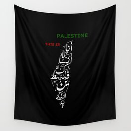 This is Palestine Wall Tapestry