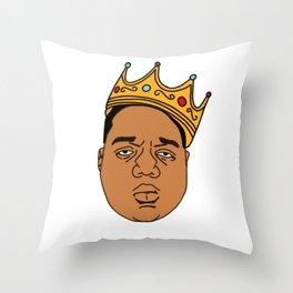 The Notorious BIG Throw Pillow