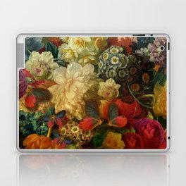 """""""Baroque Spring of Flowers and Butterflies"""" Laptop & iPad Skin"""