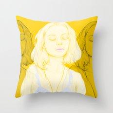 Lemondrop Throw Pillow