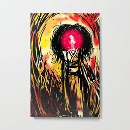 An Ill Omen Metal Print