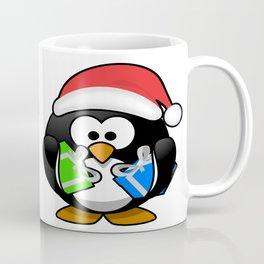 Penguin with Gifts Coffee Mug