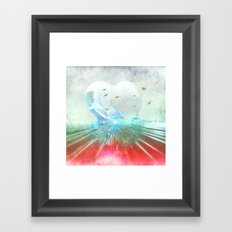 When it comes from the heart ... Framed Art Print