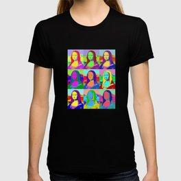 Mona Lisa - Pop Art T-shirt
