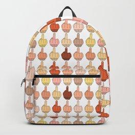 Multicultural Middle Fingers Backpack