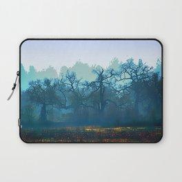 Skragley Oak Trees in the Laguna de Santa Rosa, Sonoma County, California Laptop Sleeve